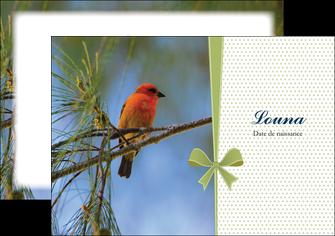 faire modele a imprimer flyers oiseau nature arbre MIF36343