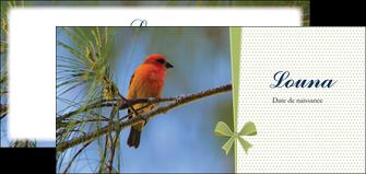 imprimer flyers oiseau nature arbre MIF36351