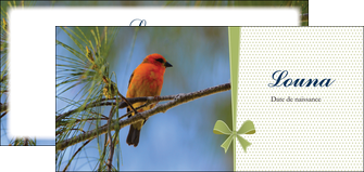 imprimer flyers oiseau nature arbre MLGI36351