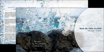 modele en ligne depliant 2 volets  4 pages  eau flot mer MLGI36393