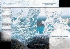 creation graphique en ligne depliant 3 volets  6 pages  eau flot mer MLGI36397