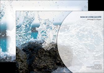 faire affiche eau flot mer MLGI36403