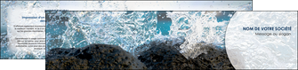 imprimerie depliant 2 volets  4 pages  eau flot mer MLGI36413