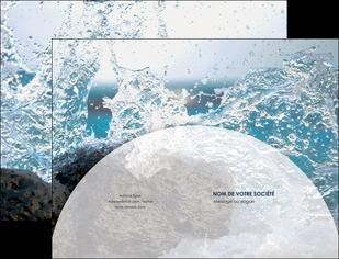 imprimerie pochette a rabat eau flot mer MLGI36417