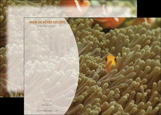 personnaliser maquette affiche animal nemo macro original MLGI36445
