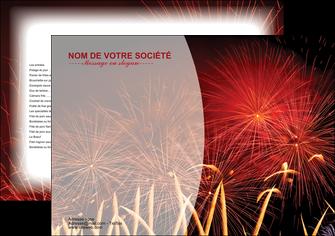 creer modele en ligne set de table 14 juillet feux dartifice artificier MIS36645