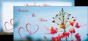 faire modele a imprimer flyers fleur heureux ciel bleu MLIG36771
