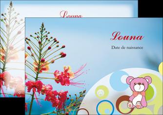 modele en ligne flyers couleur fleur liberte MIF36783