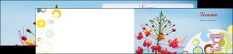 impression depliant 2 volets  4 pages  couleur fleur liberte MIF36785