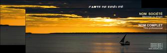 faire modele a imprimer carte de visite sejours pirogue couche de soleil mer MLGI36921