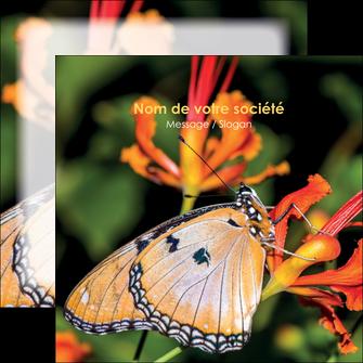 modele flyers belle photo de papillon macro couleur MLGI36977