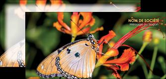imprimer flyers belle photo de papillon macro couleur MLGI36995