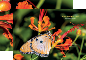 cree pochette a rabat belle photo de papillon macro couleur MLGI37003