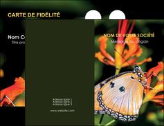 creer modele en ligne carte de visite belle photo de papillon macro couleur MLGI37007
