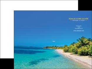 imprimer pochette a rabat sejours plage sable mer MLIP37039