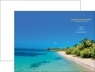 imprimer pochette a rabat sejours plage sable mer MLGI37039