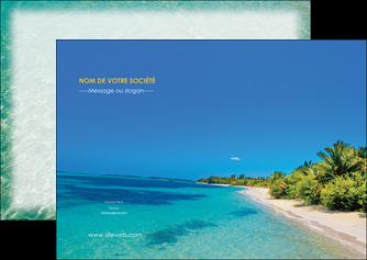 realiser flyers sejours plage sable mer MLIP37061