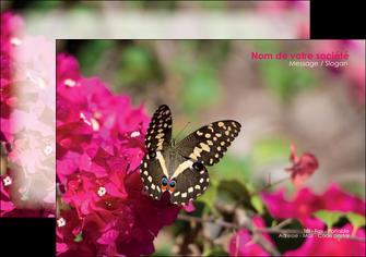 imprimerie flyers agriculture papillons fleurs nature MLGI37115