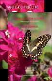 imprimer carte de visite agriculture papillons fleurs nature MLGI37135