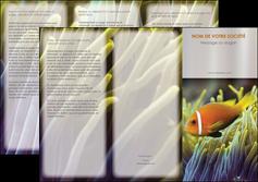 modele en ligne depliant 3 volets  6 pages  animal originale belle photo idee MLGI37445
