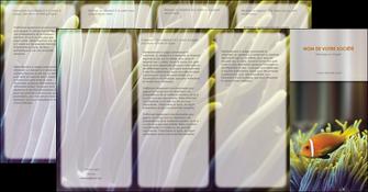 impression depliant 4 volets  8 pages  animal originale belle photo idee MLGI37455