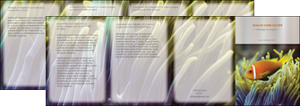 cree depliant 4 volets  8 pages  animal originale belle photo idee MLGI37457