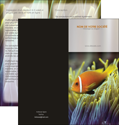 personnaliser modele de depliant 2 volets  4 pages  animal originale belle photo idee MLGI37463