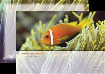 creer modele en ligne affiche animal originale belle photo idee MLGI37467