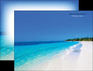 faire pochette a rabat sejours plage mer sable blanc MLGI37587