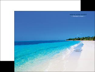 creer modele en ligne pochette a rabat sejours plage mer sable blanc MLGI37589