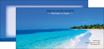 impression flyers sejours plage mer sable blanc MLGI37595