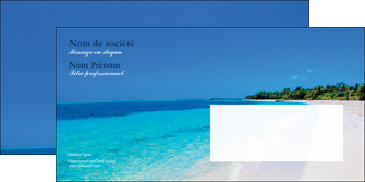 imprimer enveloppe sejours plage mer sable blanc MLGI37605