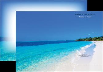 creer modele en ligne pochette a rabat sejours plage mer sable blanc MLGI37609