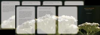 imprimer depliant 4 volets  8 pages  fleuriste et jardinage plantes cactus fleurs MLGI37657