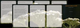 maquette en ligne a personnaliser depliant 4 volets  8 pages  fleuriste et jardinage plantes cactus fleurs MLGI37671
