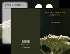 modele en ligne carte de visite fleuriste et jardinage plantes cactus fleurs MLGI37687