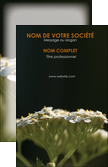 exemple carte de visite fleuriste et jardinage plantes cactus fleurs MLIP37689