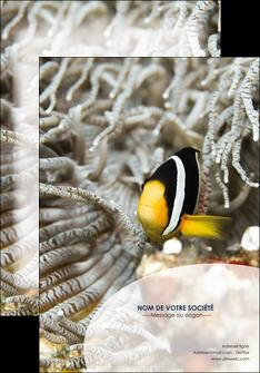 faire affiche animal poisson plongee nature MLGI37901