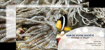 imprimerie flyers animal poisson plongee nature MLGI37923