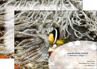 cree affiche animal poisson plongee nature MLGI37925
