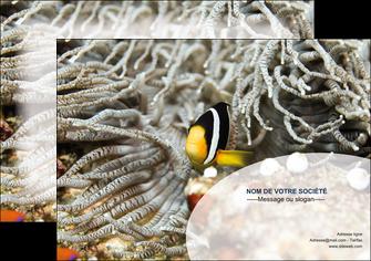 imprimer affiche animal poisson plongee nature MLGI37927