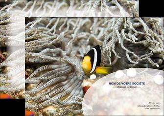 imprimerie affiche animal poisson plongee nature MLGI37929