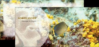personnaliser maquette flyers plongee  poisson plongee nature MLGI38223