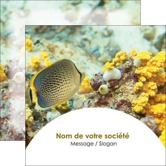 faire flyers animal poisson plongee nature MLGI38227