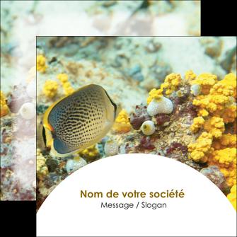 faire flyers animal poisson plongee nature MLGI38227
