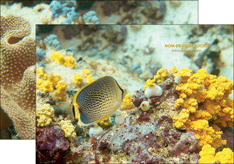 cree pochette a rabat animal poisson plongee nature MLGI38249