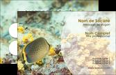faire modele a imprimer carte de visite plongee  poisson plongee nature MLIP38251