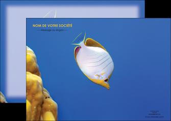 impression flyers poisson et crustace poissons mer ocean MIF38861