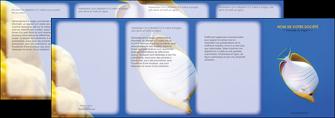 impression depliant 4 volets  8 pages  poisson et crustace poissons mer ocean MIF38863