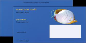 faire enveloppe poisson et crustace poissons mer ocean MIF38865